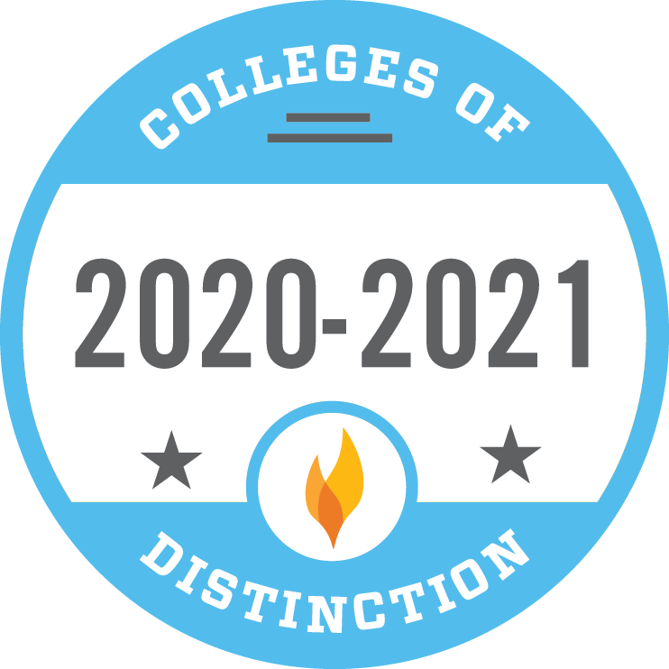 2016-2017 Colleges of Distinction badge