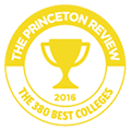 The Princeton Review 2016 - The 380 Best Colleges badge