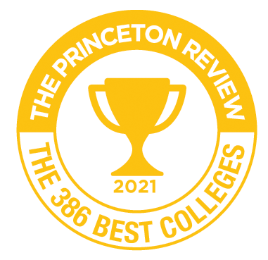 The Princeton Review 2018 - The 380 Best Colleges badge