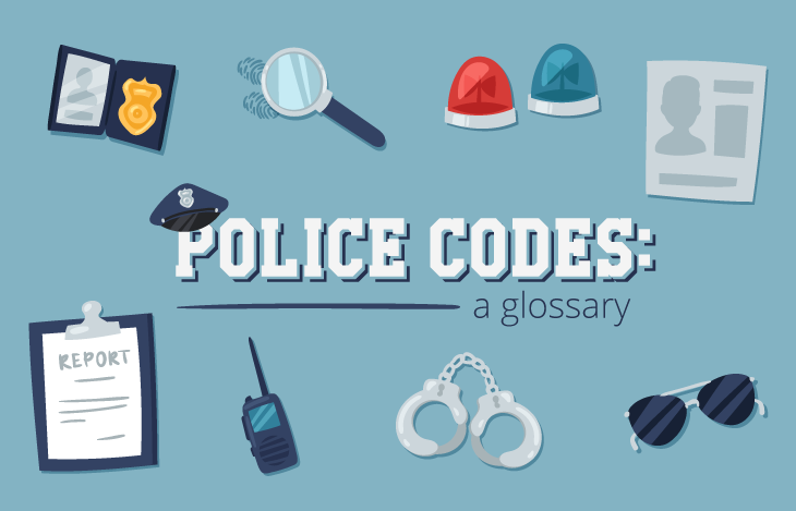 Infographic] Police Codes: A Glossary | VWU Online