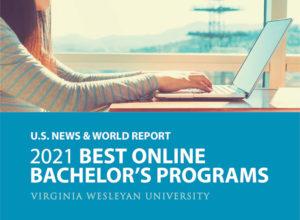 U.S. News & World Report 2021 Best Online Bachelor's Programs, Virginia Wesleyan University